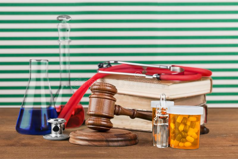 Medicinska rätter fotografering för bildbyråer