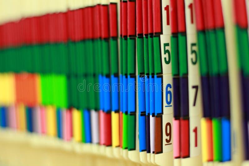 medicinska register fotografering för bildbyråer