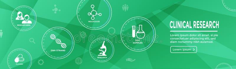 Medicinska sjukvårdsymboler med folk som kartlägger sjukdomen/Scientif royaltyfri illustrationer