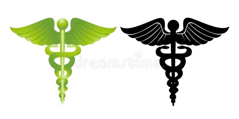 medicinska tecken stock illustrationer