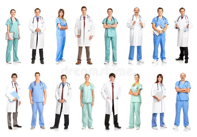medicinskt folk royaltyfri foto