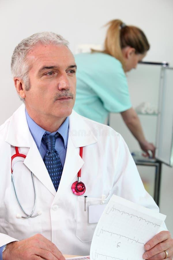 medicinskt kontor royaltyfria bilder