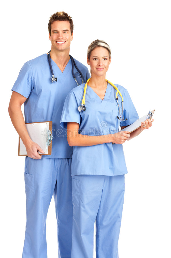 medicinskt le för folk fotografering för bildbyråer