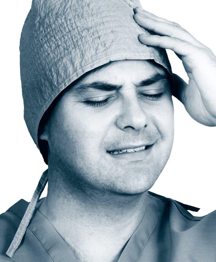 Download Medicinskt missöde fotografering för bildbyråer. Bild av manlig - 43197