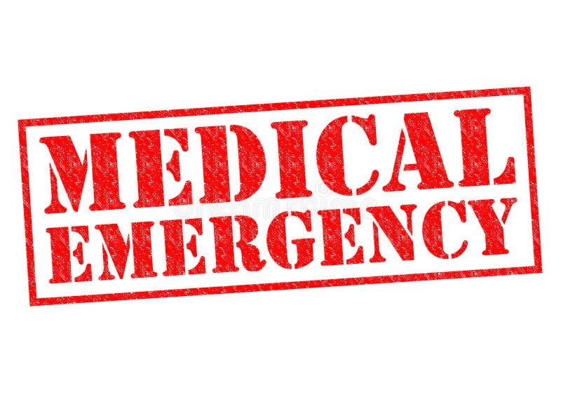 Medicinskt nödläge stock illustrationer