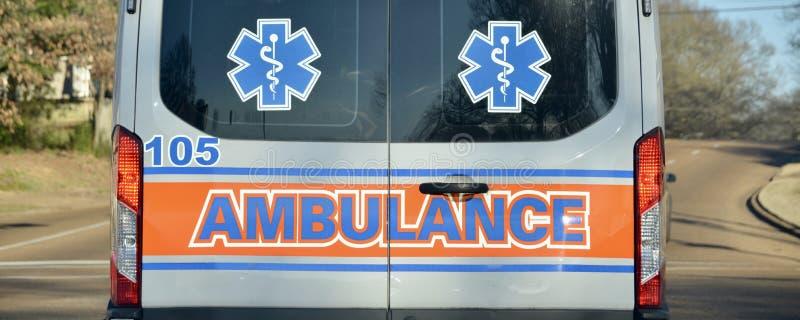 Medicinskt nödläge för ambulans royaltyfria foton