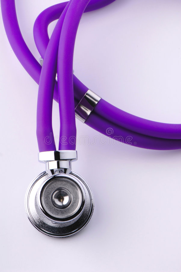 medicinskt stetoskop arkivbilder