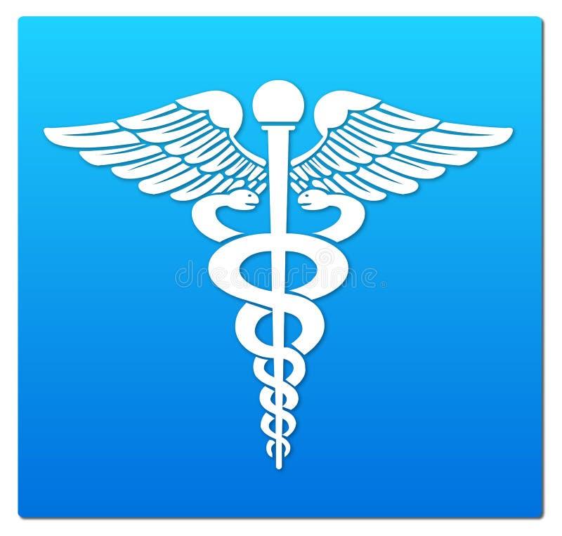 medicinskt symbol royaltyfri illustrationer