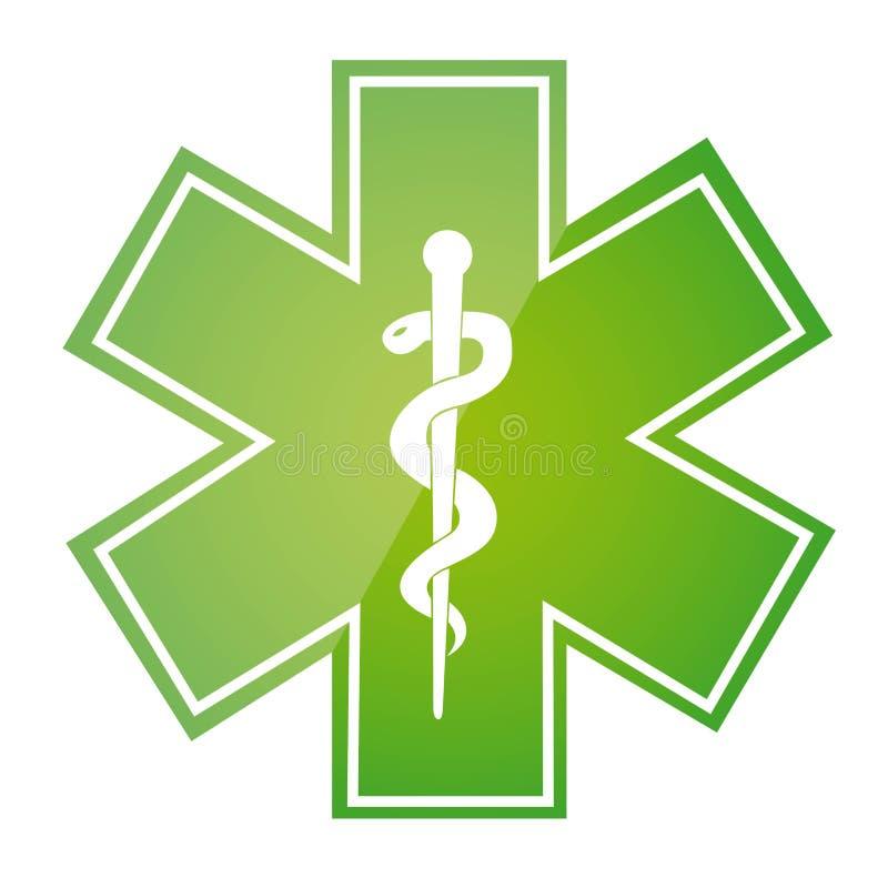 medicinskt tecken vektor illustrationer