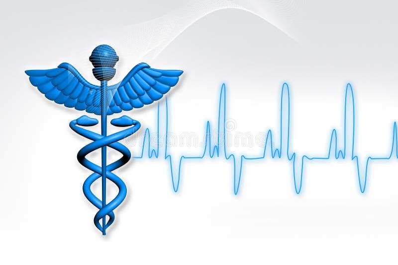 medicinsymbol royaltyfri illustrationer