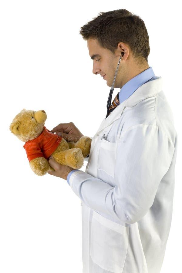 Medico amichevole per i bambini immagine stock libera da diritti