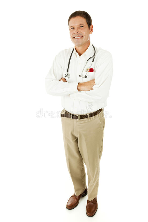 Medico casuale - ente completo immagini stock