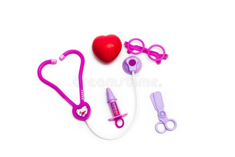 Medico del giocattolo immagine stock