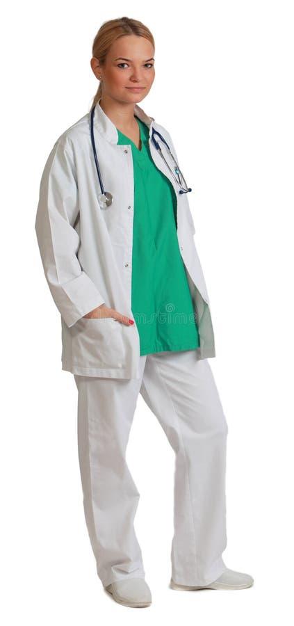 Medico Della Giovane Donna Immagine Stock