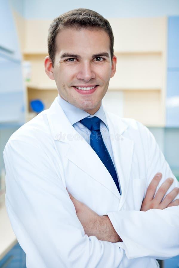 Medico di successo immagine stock