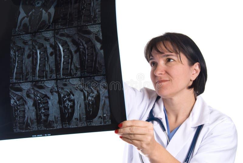 Medico e medico femminili fotografie stock libere da diritti