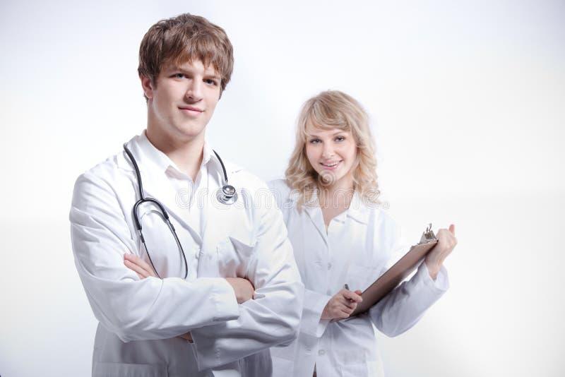 Medico ed infermiera immagine stock libera da diritti