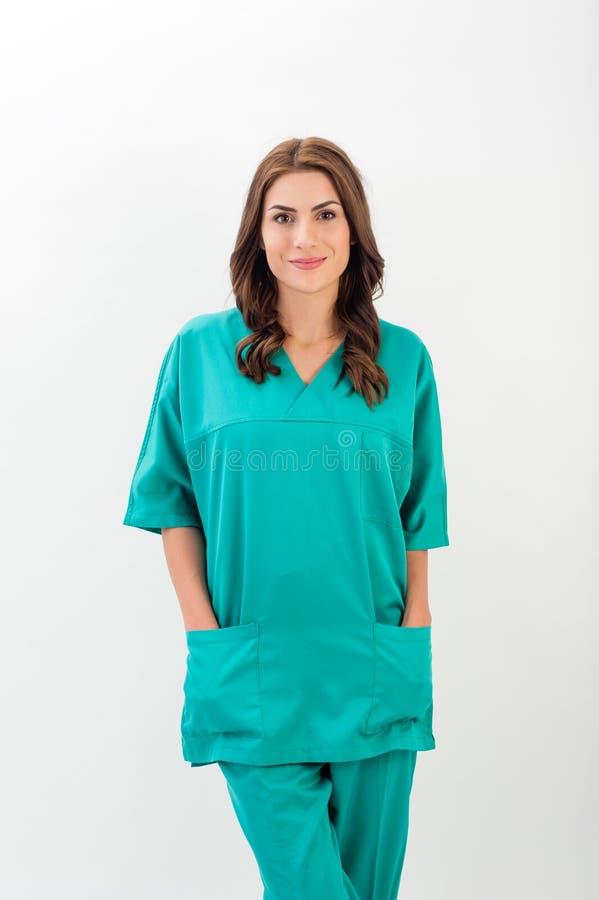 Medico/infermiere femminili fotografie stock