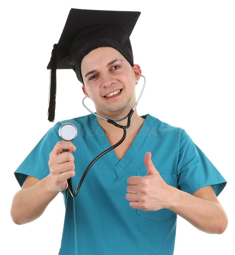 Medico laureato fotografia stock libera da diritti