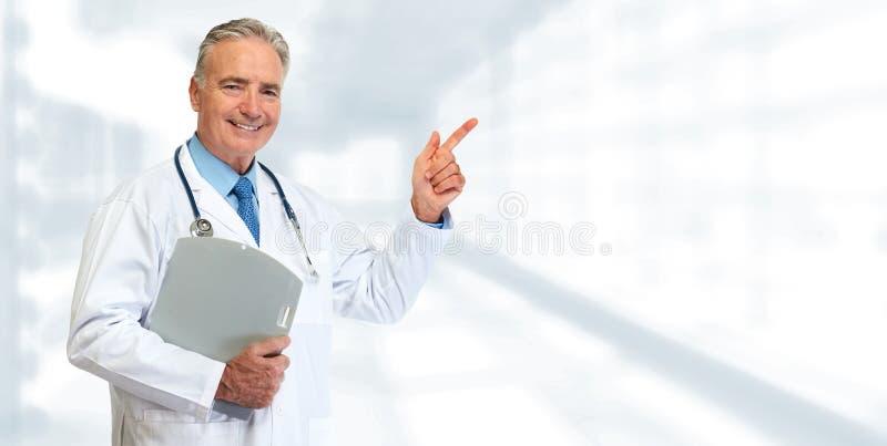 Medico maggiore fotografie stock libere da diritti