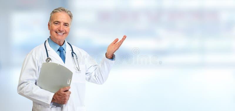 Medico maggiore fotografia stock libera da diritti