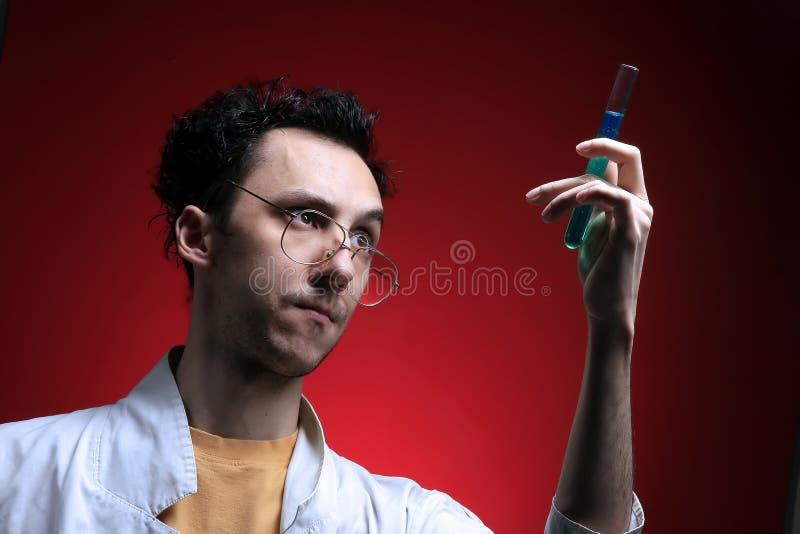 Medico pazzesco fotografie stock libere da diritti