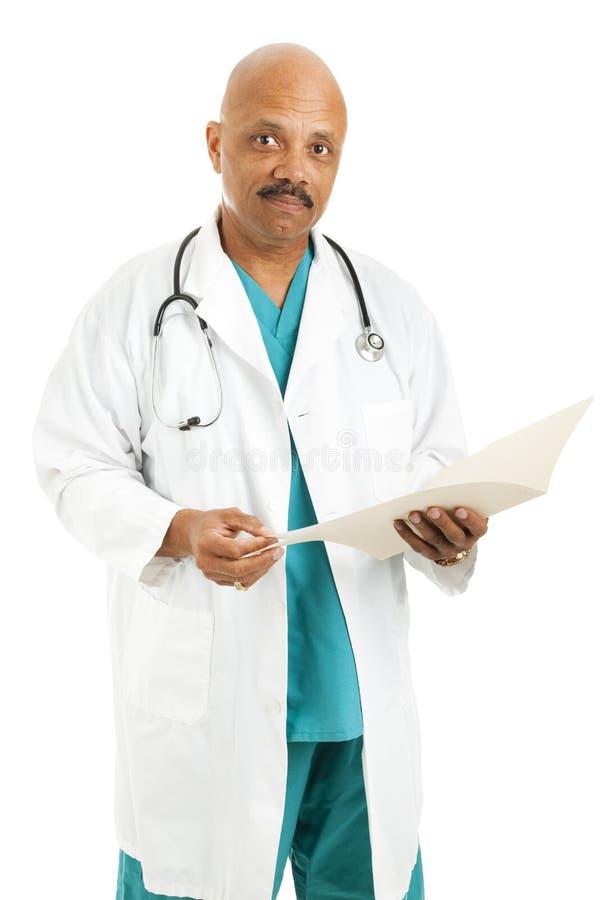 Medico preoccupantesi bello immagini stock