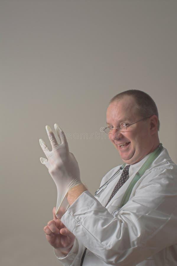 Medico sciocco fotografia stock