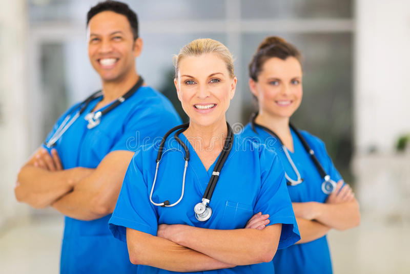 Medico senior medico fotografie stock libere da diritti