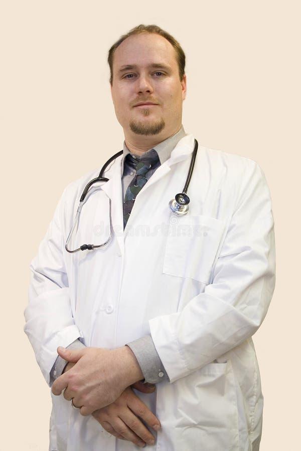 Medico su bianco fotografia stock libera da diritti
