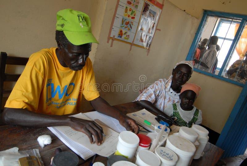 Medico sudanese immagini stock