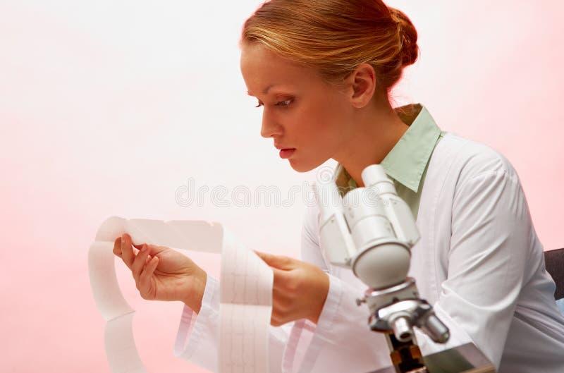 Medico sul lavoro fotografia stock libera da diritti