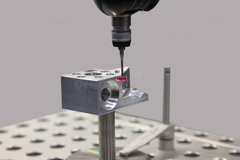 Medida en la ingeniería industrial fotografía de archivo