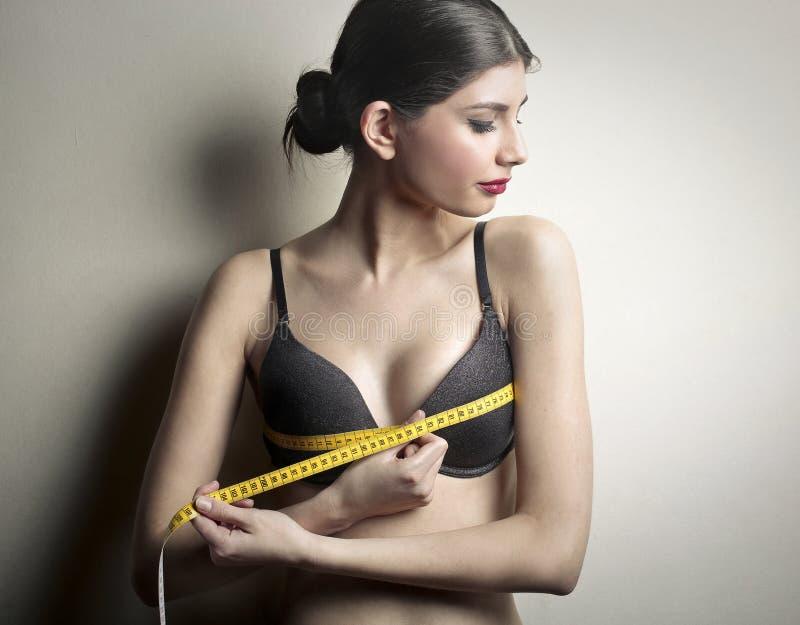 Medidas do corpo fotos de stock