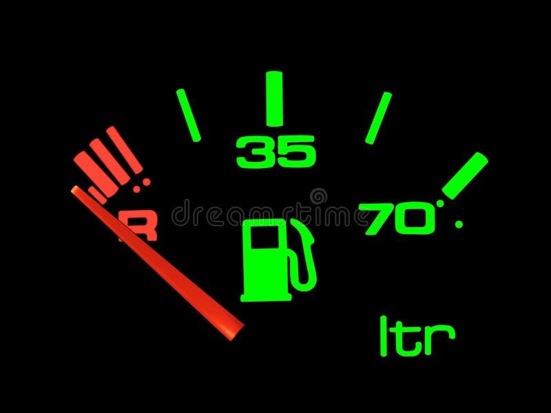 Medidor da gasolina. imagem de stock