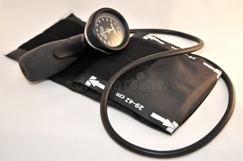 Medidor da pressão sanguínea fotos de stock