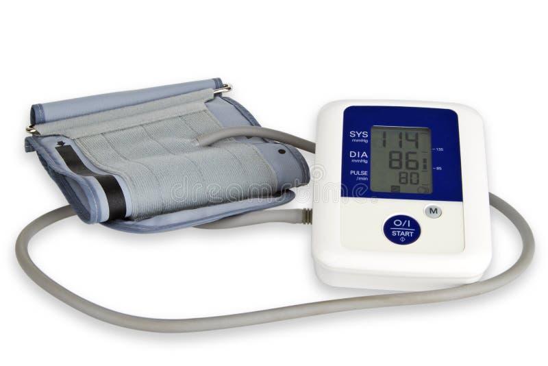 Medidor da pressão sanguínea foto de stock