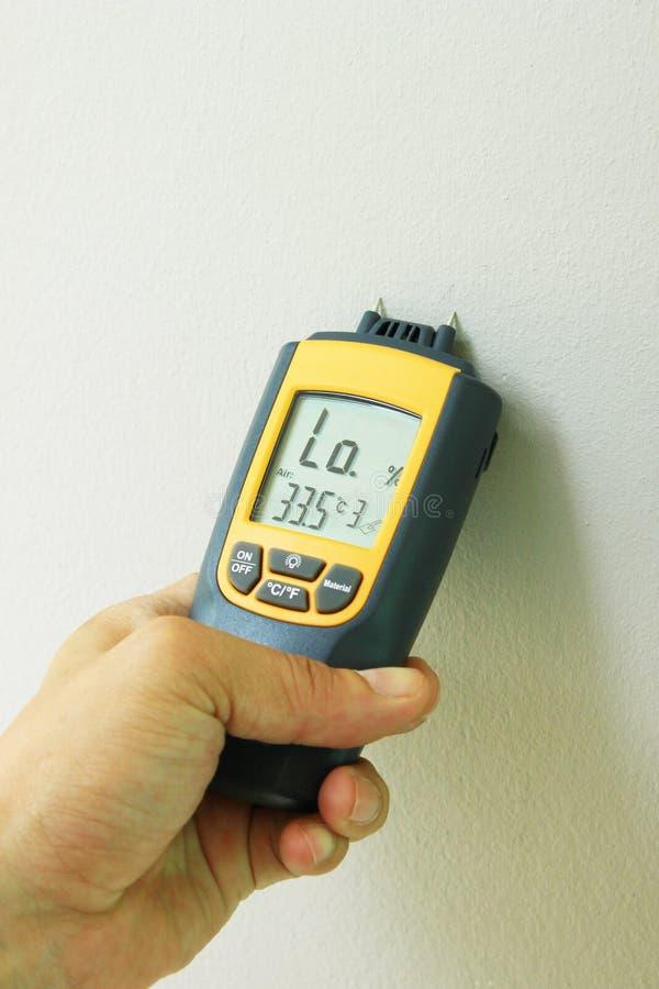 Medidor -2 da umidade imagem de stock