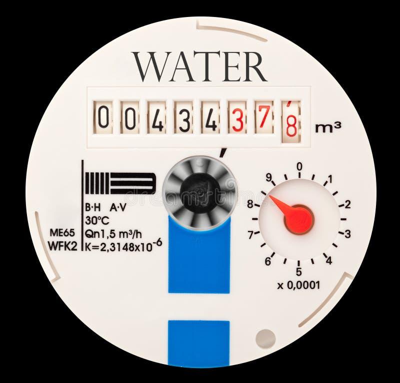 Medidor de água foto de stock royalty free