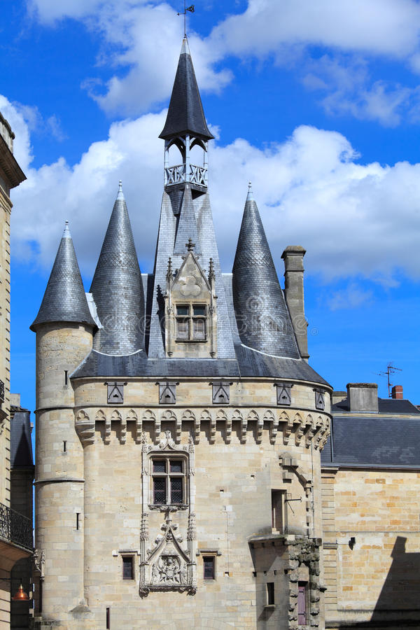 Download Medieva Tower And Wall - Porte Cailhau, Bordeaux Stock Images - Image: 20899234