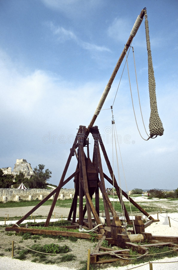 Download Medieval stock image. Image of french, trebuchet, bastion - 1405753