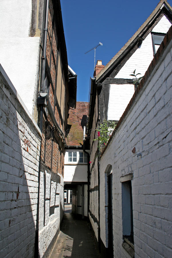 Download Medieval alley stock photo. Image of houses, tewkesbury - 10168026