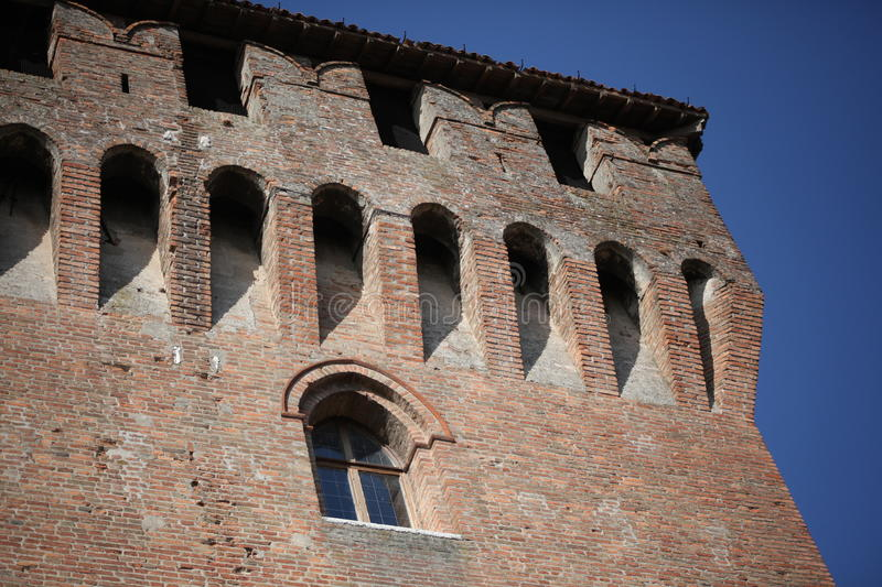 Medieval architecture details stock images
