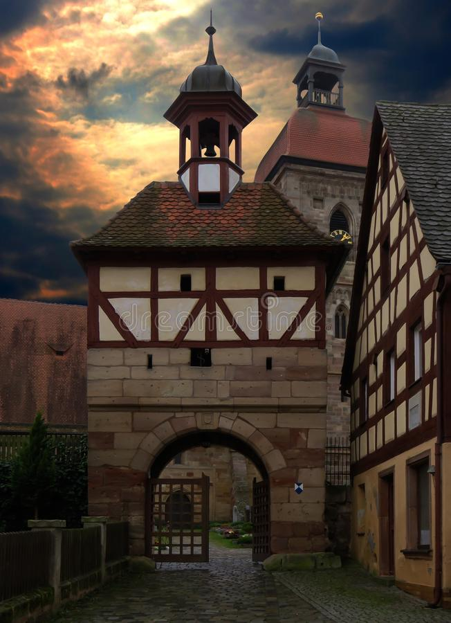 Medieval Architecture, Landmark, Sky, Building royalty free stock photography