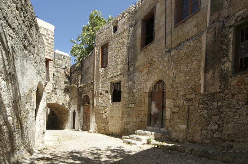 Download Medieval Avenue Of The Knights, Rhodes Citadel Stock Photo - Image: 27045476