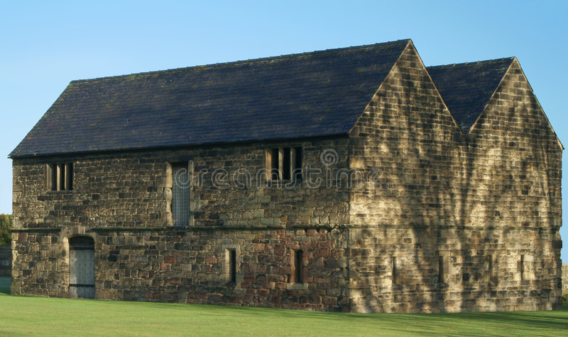 Medieval Barn royalty free stock photography