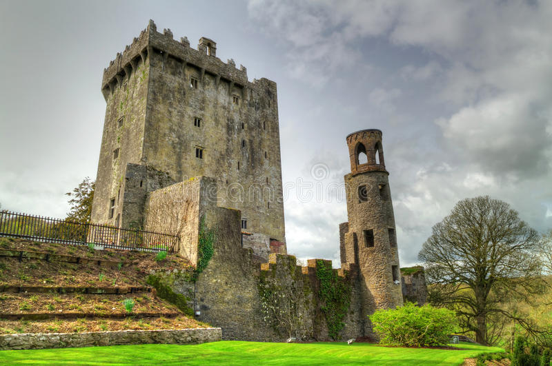 Medieval Blarney Castle. In Co. Cork - Ireland - HDR stock photo