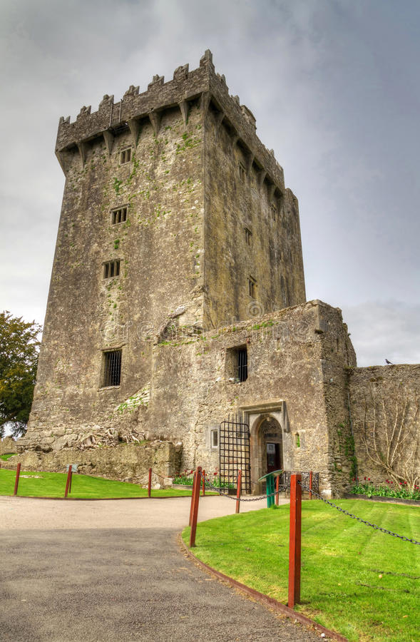 Medieval Blarney Castle royalty free stock photography