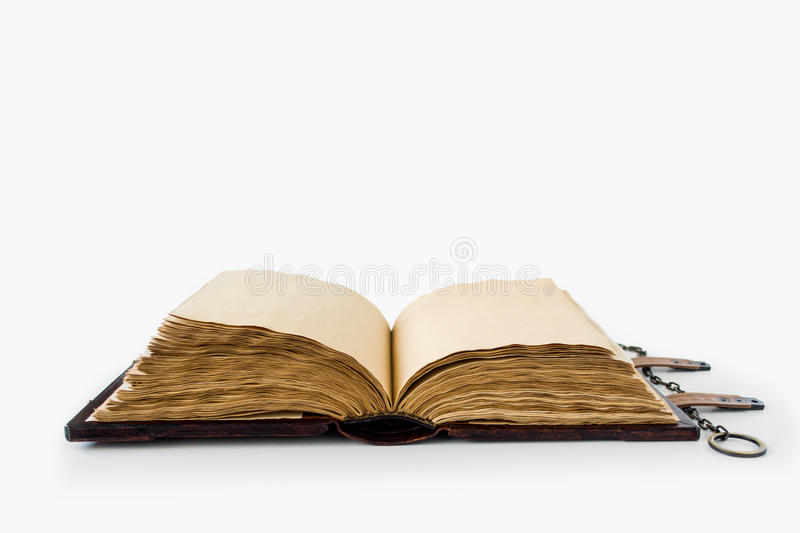 Medieval book with chain royalty free stock images