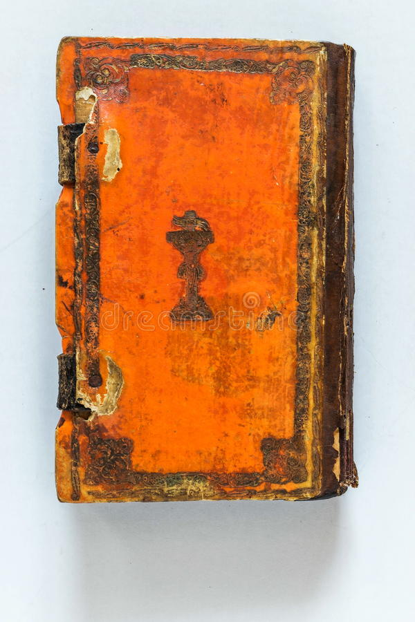 Medieval book cover royalty free stock image